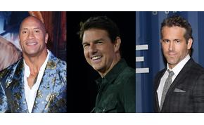 Közös filmen dolgozik Dwayne Johnson, Tom Cruise és Ryan Reynolds?