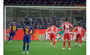 Messi pimasz tizenegyese sem segített a Barcelonán – videó