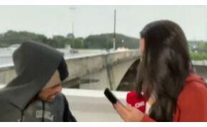Hihetetlen: élő adásban raboltak ki egy brazil riportert – videó
