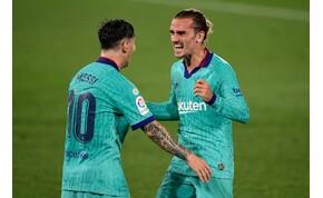 Csodálatos Griezmann-gól, üldözi a Barcelona a Real Madridot