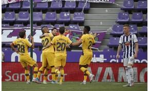 Rezgett a léc, nyögvenyelős meccsen hozta a kötelezőt a Barcelona – videó