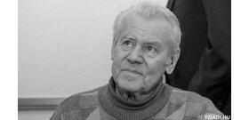 Meghalt Szűcs Lajos, Pécsi Ildikó férje