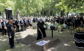 Eltemették Bálint Györgyöt – képek