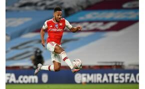 18 passz, 10 játékos, 1 csodagól: Cityt verve jutott döntőbe az Arsenal – videó