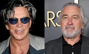 Balhé: Mickey Rourke durván megfenyegette Robert De Nirót