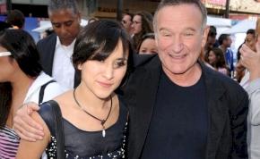 Robin Williams lánya megható gesztussal emlékezett elhunyt édesapjára