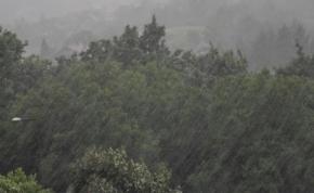 Brutális mennyiségű eső zúdult egy magyar településre: 178 mm egy nap alatt - videó