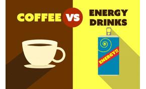 Kávé vagy energiaital? Az agyadnak nem mindegy, melyiket iszod