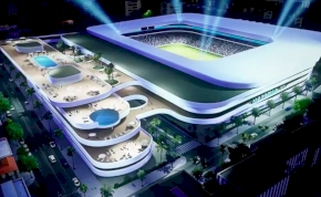 Olyan stadiont építenek Marbellán, amitől leesik az állad