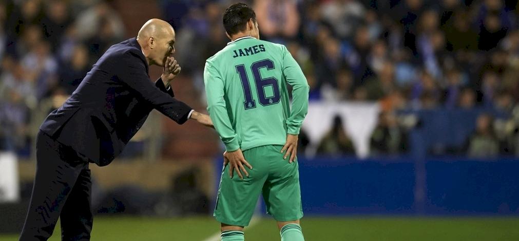 A Real Madrid játékosának gondjai vannak Zidane-nal