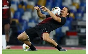Zlatan Ibrahimovic nem épp hétköznapi módon ment edzésre