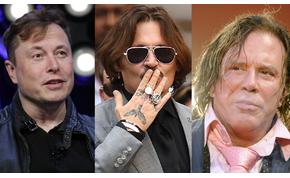 Mickey Rourke Johnny Depp védelmére kelt: meg akarja verni Elon Muskot