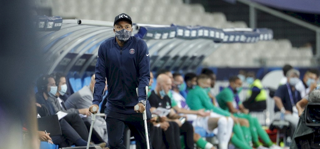 A PSG edzője a súlyos sérülést szenvedő Mbappéról beszélt