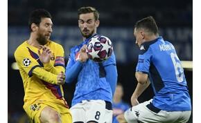 A Barca edzője szokatlan ötlettel állt elő – így jutnának túl Messiék a Napolin