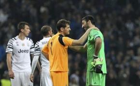 Legendák egymás közt: így búcsúzott Buffon a visszavonuló Casillastól