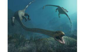 Egy félelmetes, zsiráfnyakú őslény, ami akár a Loch Ness-i szörny is lehetne