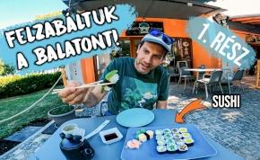Fördős Zé újra letesztelte a Balaton legjobb kajáit