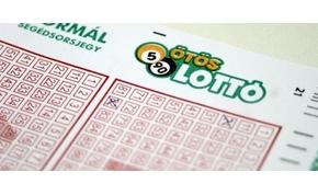 Négy páratlan számot is kihúztak az Ötös lottó sorsoláson