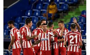 Koronavírusos az Atlético Madird két tagja - veszélyben a BL-meccs?