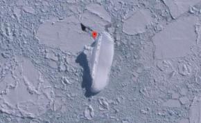 """Titokzatos """"jéghajót"""" találtak az Antarktiszon? – videó"""