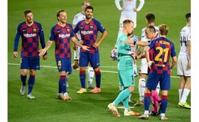 Koronavírusos játékost találtak a Barcelonánál