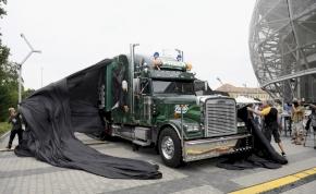 Bemutatták a Fradi kamiont – képek