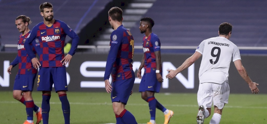 A Bayern München 8-2-re kiütötte a Barcelonát! – videó