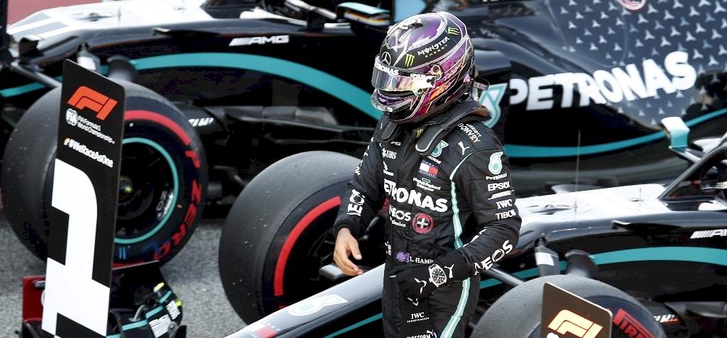 Forma-1: nincs meglepetés, taroltak a Mercedesek Barcelonában