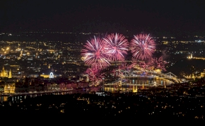 Íme az augusztus 20-i tűzijáték! – videó