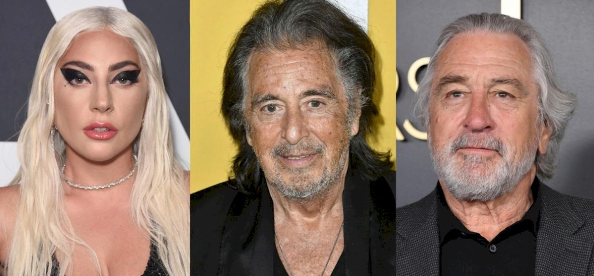 Lady Gaga, Al Pacino és Robert De Niro főszereplésével jön a Gucci-film