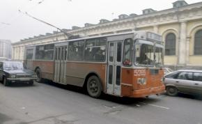 Ennyi volt: 85 év után leállították a moszkvai trolibuszokat