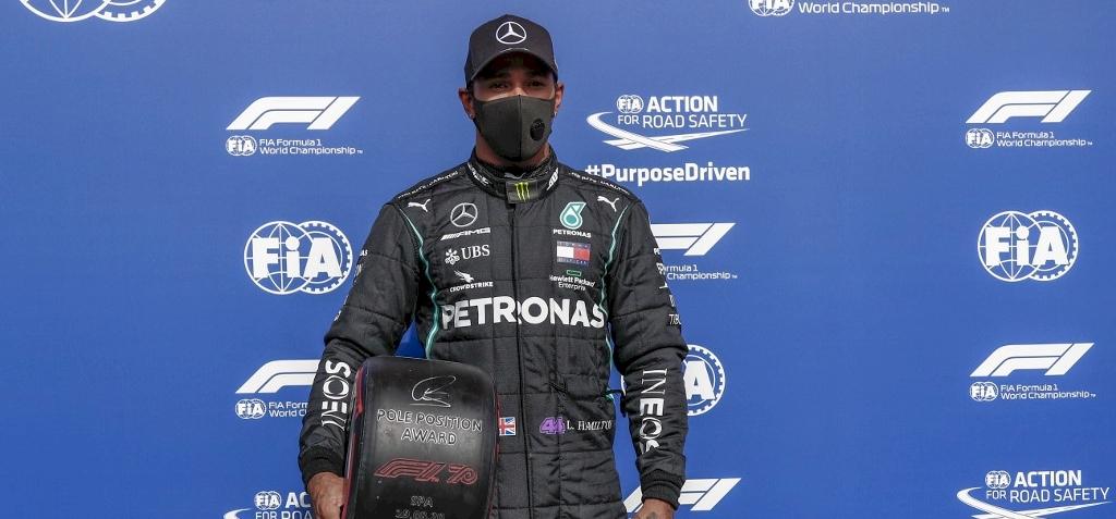 Forma-1: Chadwick Bosemannek ajánlotta körrekordos pole pozícióját Lewis Hamilton
