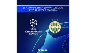 Ismerős BL-ellenfél, megint a horvát Dinamo Zagrebet kapta a Ferencváros