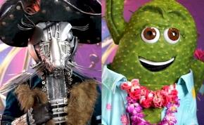 Álarcos énekes: bemutatkozott az Egér és a Kaktusz – videók