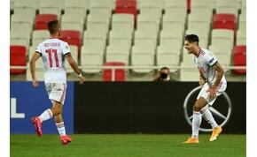 Szoboszlai beszélt a törökök elleni meccsről és arról, miért maradt Salzburgban