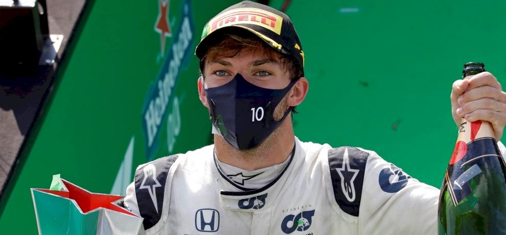 F1: Pierre Gasly nyerte az őrült Olasz Nagydíjat