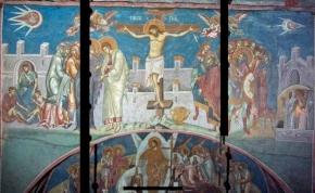 Földönkívüli járművek vannak egy 14. századi festményen Jézus mellett?