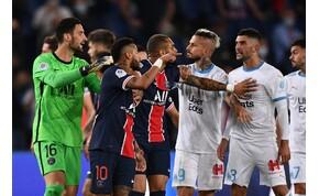 Kakaskodás, ütés, rúgás – öt piros a franciák klasszikusán, Neymar agya is elborult