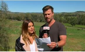 Chris Hemsworth keményen megtrollkodott egy ausztrál időjóst – videó