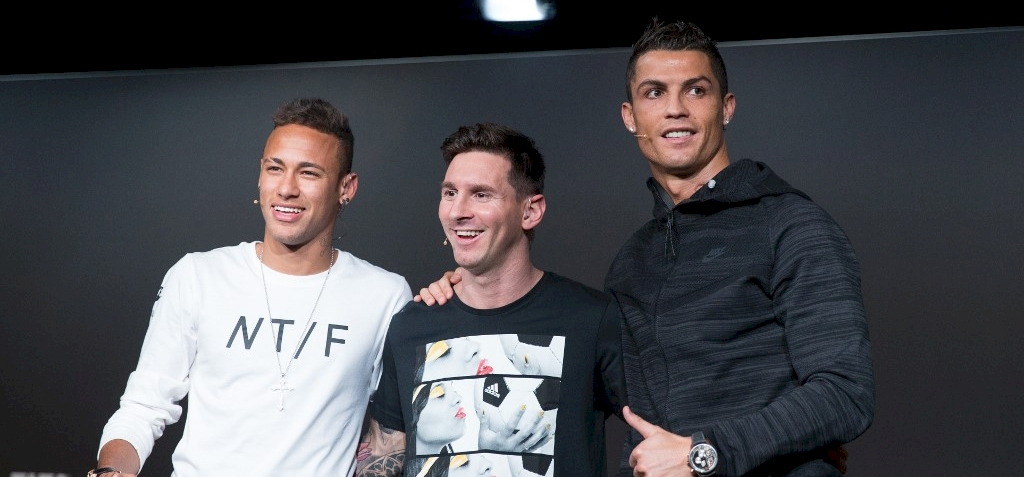 Messi, Ronaldo, Neymar – íme a világ legjobban kereső labdarúgóinak listája
