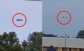 Tényleg ufót láttak az emberek New Jersey-ben? – videó