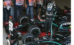 Forma-1: Hamilton hibázott, Bottas nyert Szocsiban