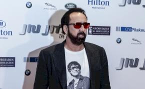 Rossz hírünk van Nicolas Cage hazai rajongóinak – fotó