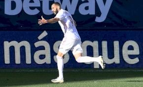 Mérföldkőhöz érkezett Benzema, idegenben nyert a Real Madrid – videó