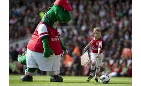 Az Arsenal 27 év után, költségcsökkentés miatt elküldi kabaláját
