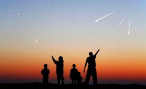 Rengeteg hullócsillagot láthatsz csütörtök éjjel