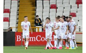 Így reklámozza az UEFA a bolgár-magyar Eb-pótselejtezőt