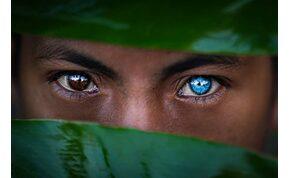 Az indonéz törzs, ahol mindenkinek kék a szeme