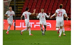 Újonc góljával verte a magyar válogatott Szerbiát