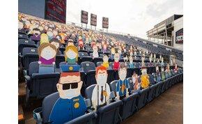 """A South Park teljes szereplőgárdája a helyszínen """"szurkolt"""" a Denver Broncosnak"""